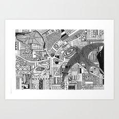 Fly Above Art Print