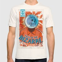 Tales of the Bizarre Mens Fitted Tee Natural SMALL