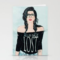 ALL IS NOT LOST Stationery Cards