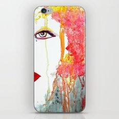 Angry Girl iPhone & iPod Skin