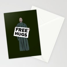 Free hugs Lord Voldemort Stationery Cards