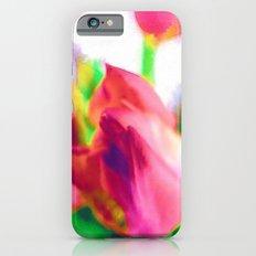 Harborough Tulips - Watercolour Paiting iPhone 6 Slim Case