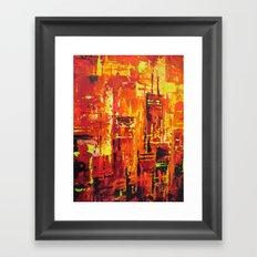 Chicago Fire Framed Art Print