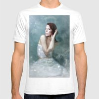 The Love of Light Mens Fitted Tee White SMALL