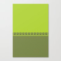 Chartreuse Spring Canvas Print