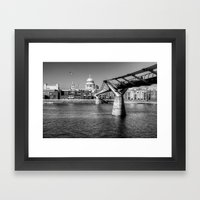 St Pauls Cathedral, London Framed Art Print