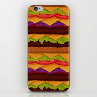 Infinite Burger iPhone & iPod Skin