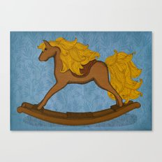 Peta approved racehorse Canvas Print