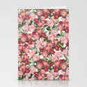 Wild Roses - Seamless Pattern Stationery Cards