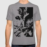 Black Eye Mens Fitted Tee Athletic Grey SMALL