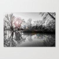 TREE-FLECTION Canvas Print