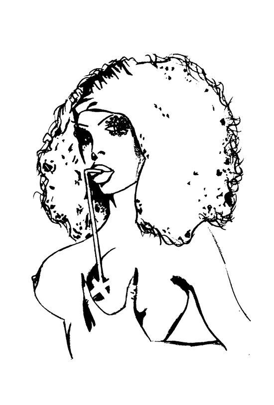 Amanda xxx Lepore. Art Print
