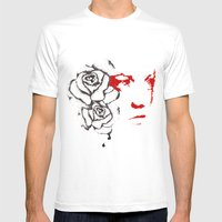 Abusive Mens Fitted Tee White SMALL