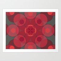 Circle Star 4x8 Art Print
