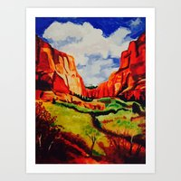 Sedona, Arizona Art Print