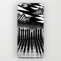 descending of night at the factory iPhone & iPod Skin