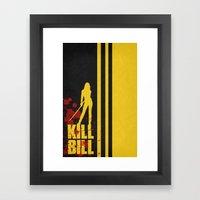Kill Bill - Minimalist P… Framed Art Print