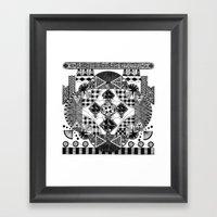 Symmetry And A Little Bi… Framed Art Print
