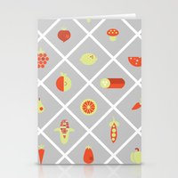 food Stationery Cards featuring food. by Monika Traikov