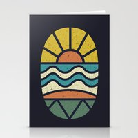 Lets Go Surfing Stationery Cards