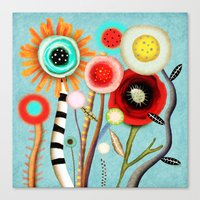 The Days Blur Into One M… Canvas Print