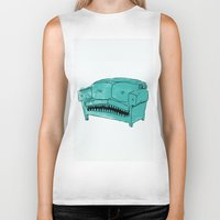 Hungry Couch Biker Tank