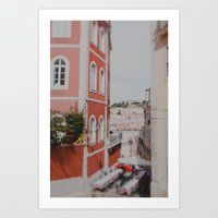 Summer in Lisbon Art Print