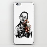 Heartbeats // Illustrati… iPhone & iPod Skin