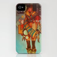 iPhone Cases featuring Frozen Lemons by loish