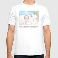 Smith Is In A Foul Mood Mens Fitted Tee White SMALL