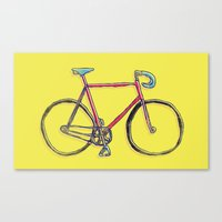 This Is My Bike. Canvas Print