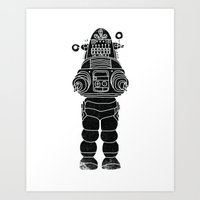ROBBY THE ROBOT Art Print