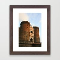 Naples Castle Framed Art Print