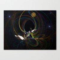Swan Song. Canvas Print