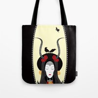 Dream of a Raven Tote Bag