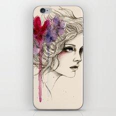 Water Flowers iPhone & iPod Skin