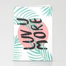 Luv U More Stationery Cards