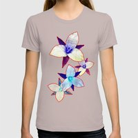 The Patriot Blooms Womens Fitted Tee Cinder SMALL