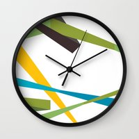 Banners Wall Clock