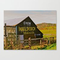 Mail Pouch Barn WV Canvas Print