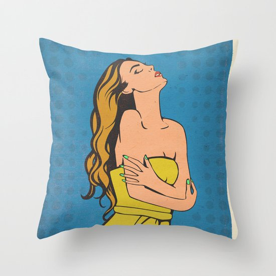 CATARSIS Throw Pillow