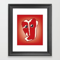 ViceTales: Meaty Framed Art Print