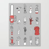 Give Me A Hand Canvas Print
