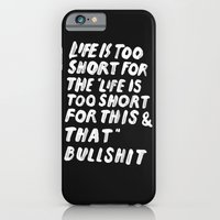 TOO SHORT FOR ANYTHING iPhone 6 Slim Case