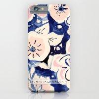 Midnight Moonflower iPhone 6 Slim Case