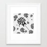 Goth Lollies Framed Art Print