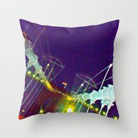 Bridge of Brooklyn Throw Pillow