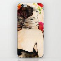 Lucy In Flower Fields iPhone & iPod Skin