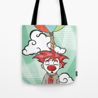 the punch-line Tote Bag
