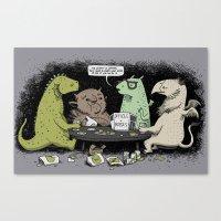 Monsters Love RPGs Canvas Print